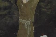 刘丽芬 Liu Lifen  弃  Abandoned 纸本综合材料 Mixed Media on Paper 140x80cm 2002