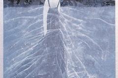 刘丽芬 Liu Lifen  愉悦的那一时刻之2  Joyful Moment No.2纸本彩墨Acylic and Chinese water colour on paper 100x200cm 2007
