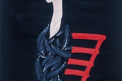 刘丽芬 Liu Lifen 表象 Presentational, 纸本彩墨 Chinese water colour and Ink on paper, 100x200cm, 2007