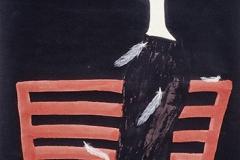 刘丽芬 Liu Lifen 失落 Lost 纸本彩墨 Chinese water colour and Ink on paper100x200cm 2007