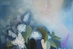 刘丽芬 Liu Lifen 停滞 Beautiful Memory  布面油画Oil on Canvas 120x150cm 2009