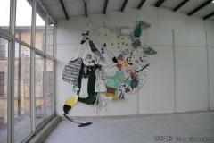 刘丽芬 无题 绘画拼贴 2010年5月