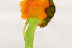 刘丽芬Liu Lifen  花恋No.2 Passion Flower No.2纸本丙烯水彩Acylic ink and Watercolour on paper 65x50cm 2013