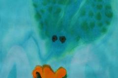 刘丽芬 惑 Attractive 纸本丙烯水彩 Acylic ink and Watercolour on paper 76x56cm 2013