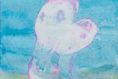 刘丽芬 Liu Lifen 吻No.1 Kiss No.1 纸本丙烯 Acylic ink on Paper 32x40.8cm 2014