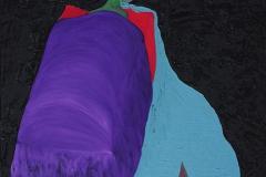 刘丽芬Liu Lifen 泣中行船  布面油画Oil on Canvas 80x100cm 2015