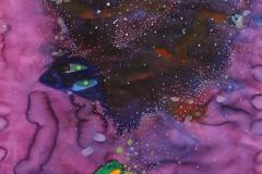 刘丽芬 Liu Lifen 驶离 Pass, 纸本丙烯水彩Acrylic and Watercolour on Paper, 95x150cm,2015.jpg