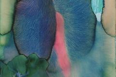 刘丽芬Liu Lifen对话Dialogue  纸本丙烯水彩Acrylic and Water Color on Paper 45.5x30.5cm 2016