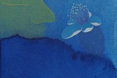刘丽芬Liu Lifen 嗅 Smell 布面油画Oil on Canvas 20 x20cm 2016
