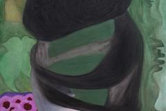 刘丽芬Liu Lifen 塑料爱No.1 Cheap Love No.1  布面油画Oil on Canvas 80x100cm 2016