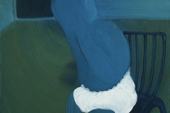 刘丽芬  Liu Lifen 成人的烦恼 A Grow-up Man 布面油画 Oil On Canvas 100x80cm  2016