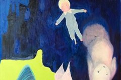 刘丽芬Liu Lifen 梦 Dream 布面油画Oil on Canvas 100x180cm 2017-2019