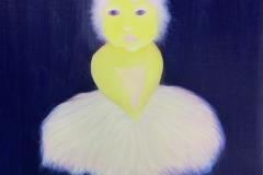 Liu Lifen 刘丽芬 Untitled 无题 布面油画 Oil on Canvas, 45x60cm, 2019